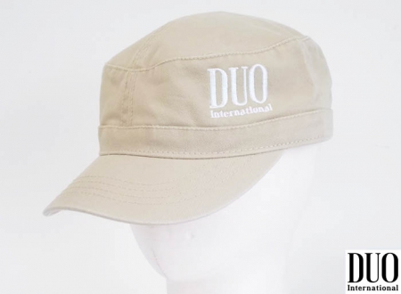 DUO EMBROIDERY LOGO WORK CAP