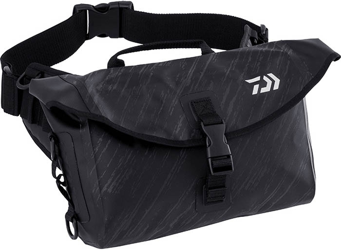 DAIWA 2019 TP HIP BAG Black Camouflageimage