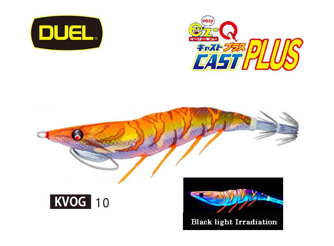 2020 DUEL EZ Q CAST PLUS #3.5 10-KVOGimage
