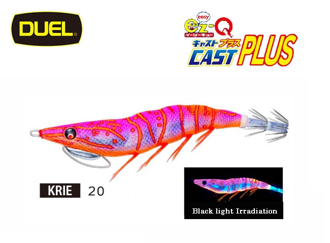 2020 DUEL EZ Q CAST PLUS #3.5 20-KRIEimage