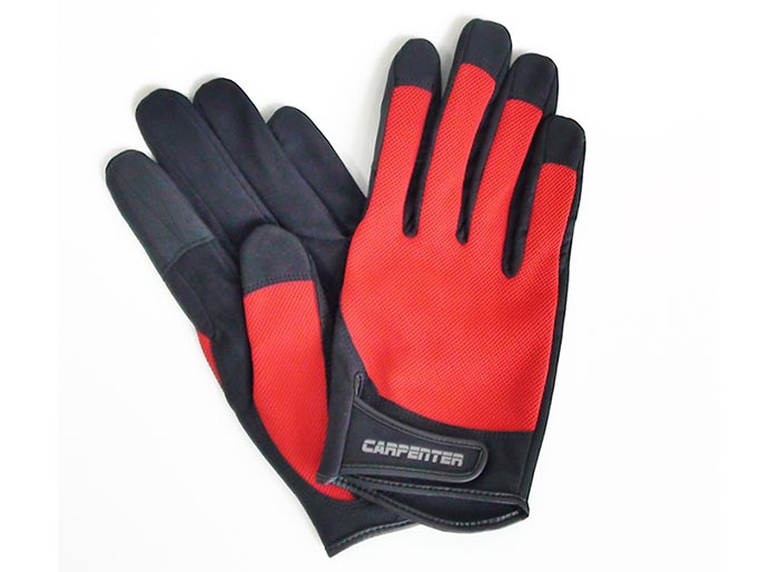 Carpenter Fishing Glove / XL-Red