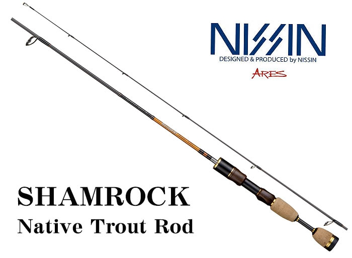 50%OFF NISSIN ARES SHAMROCK 502UL 5.2ft Trout Rodimage