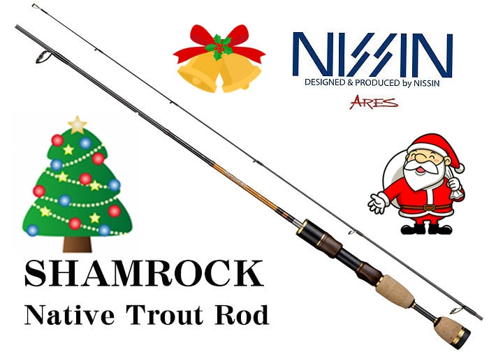 XmasSale 55%OFF NISSIN ARES SHAMROCK 506UL 5.6ft Trout Rodimage