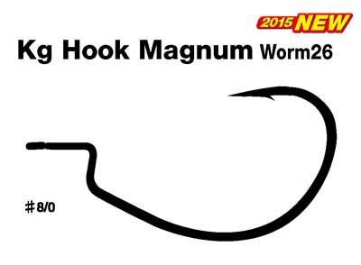 DECOY Kg Hook Magnum Worm26 #8/0image