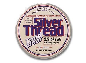 Silver Thread Trout Clear 3lb(3Spools)image
