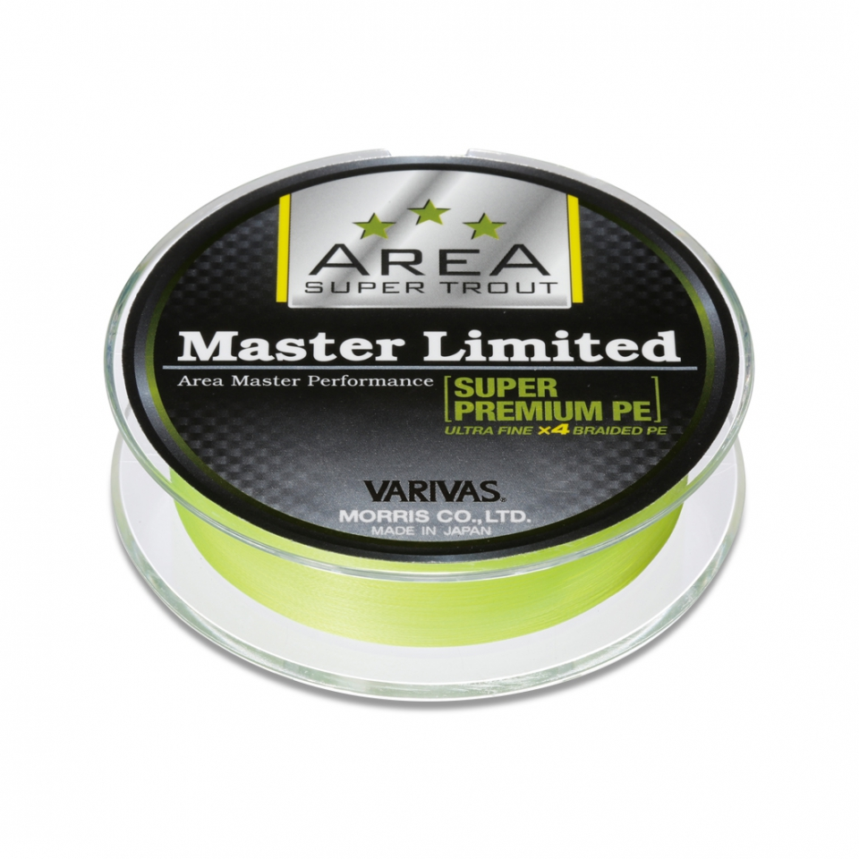 Super Trout Area Master Limited Super PremiumPE Yellow #0.15-75mimage