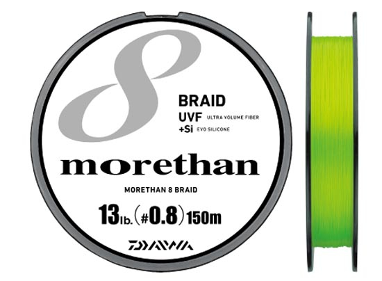 60%OFF DAIWA UFV MORETHAN X8 BRAID+Si #1.0(17lb)-150mimage