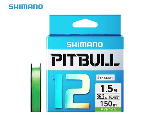 SHIMANO PITBULL 12 PL-M52R #0.8(18.3lb)-200m Sight Limeimage