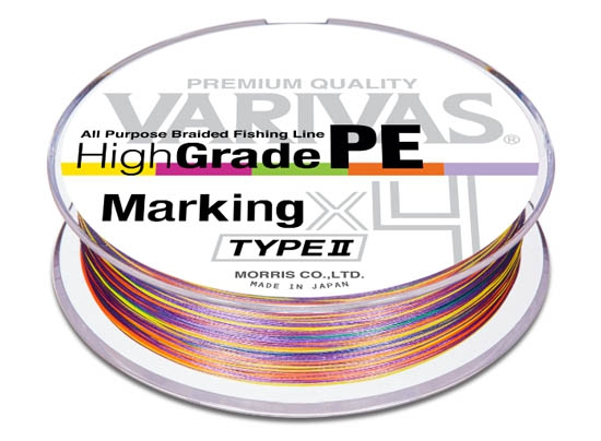 High Grade PE Marking type II x4 #0.8(15lb)-200mimage