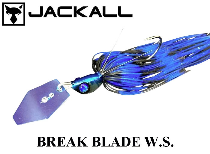 JACKALL Break Blade W.S. 1/2oz Black-Blueimage