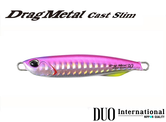 DUO Drag Metal Cast Slim 30g PHA0009 Pink Backimage