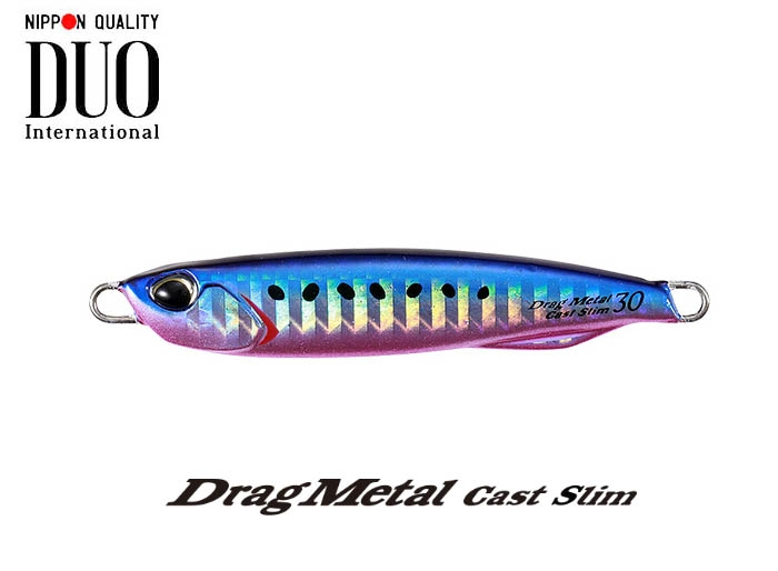 DUO Drag Metal Cast Slim 20g PHA0187 Blue Pink Sardinesimage