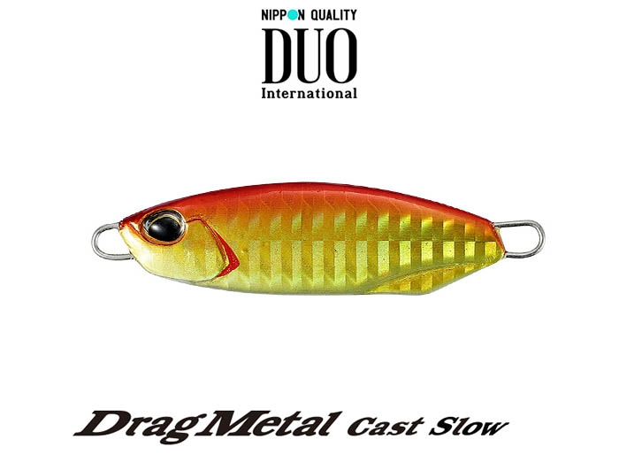 DUO Drag Metal Cast Slow 15g PPHA0026 Red Goldimage