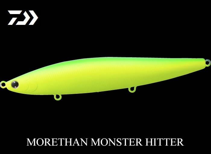 60%OFF DAIWA MORETHAN MONSTER HITTER 156F Mat Lime Chartimage