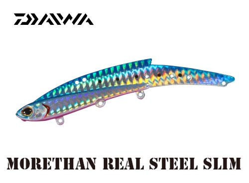 MORETHAN REAL STEEL Slim 25/Blue Pink Sardine
