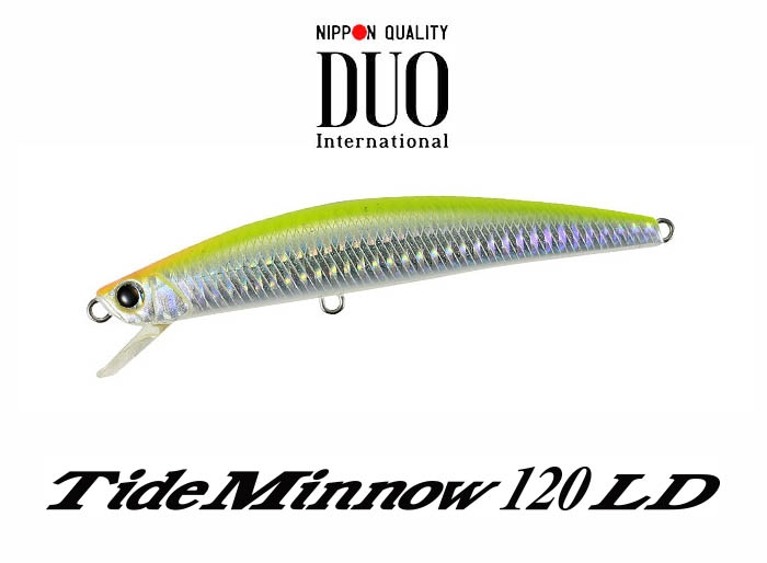 DUO Tide Minnow 120LD Chart Backimage