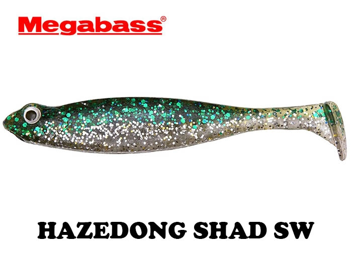 MEGABASS HAZEDONG SHAD SW 4.2inch GREEN SILVERimage