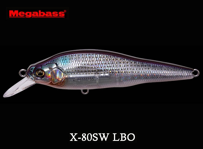 MEGABASS X-80SW LBO GG Mulletimage