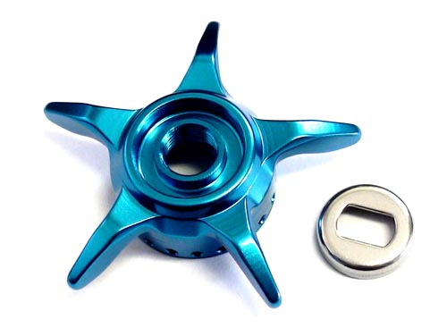 DAIWA SLP WORKS Star Drag (For Left Model) / Light Blueimage