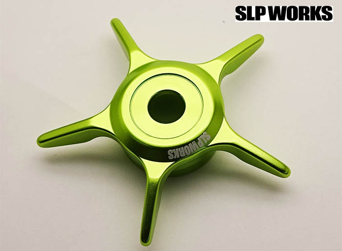 SLP WORKS SCL MC STARDRAG LIME GREENimage