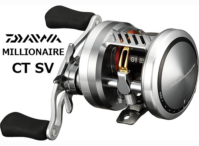 DAIWA MILLIONAIRE CT SV 70HL Left-Handle (FREE SHIPPING)image