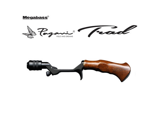 Pagani TRAD Hunting Black & Teak Wood Grip (ONLY GRIP)image