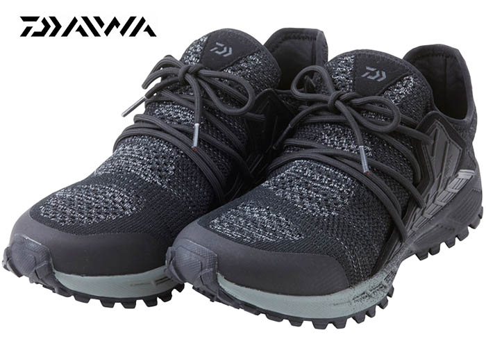 DAIWA DL-23000K KNIT UPPER SHOES / Black 26cmimage