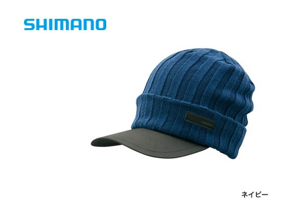 Shimano Breath Hyper +°C Fleece knit cap CA-065S / Navy (2019 Sep debut)image