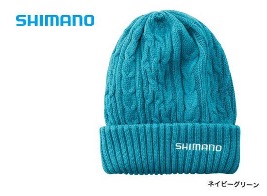 Shimano Low gauge knit watch CA-074S / Navy green (2019 Sep debut)image