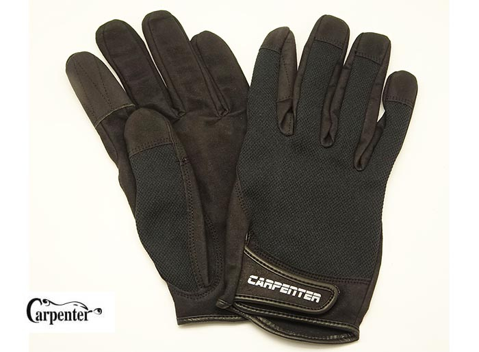 Carpenter Fishing Glove II Natural 3D Structure Type XL-Blackimage
