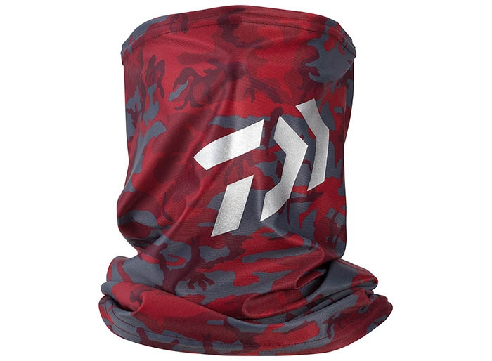 DAIWA DA-97009 COOL NECK & FACE COVER / Red Camouflageimage