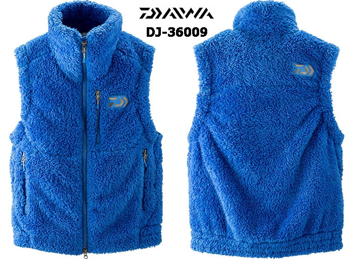 DAIWA DJ-36009 FLEECE BEST BLUE-2XL(October Debut)image
