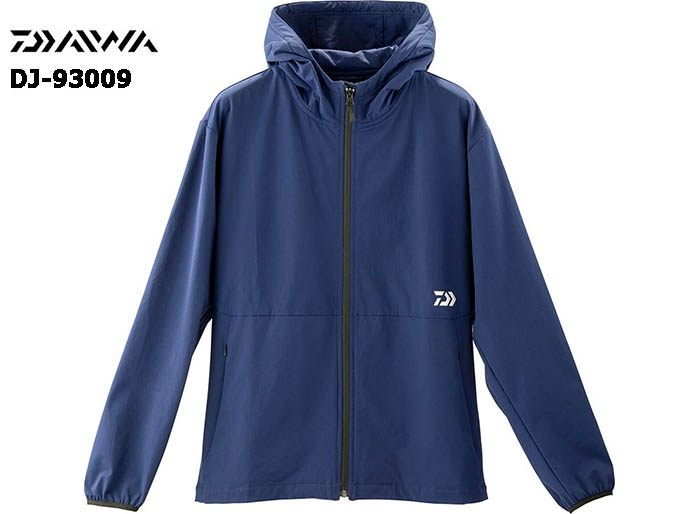 DAIWA DJ-93009 STRETCH FULL ZIP HOODY NAVY-M(October Debut)image