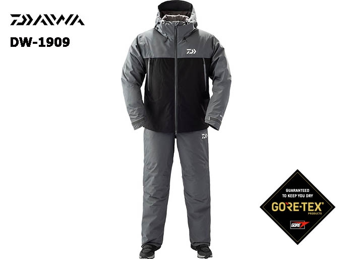 DAIWA DW-1909 Gore-Tex Product Winter Suit BLACK-XLS(October Debut)image