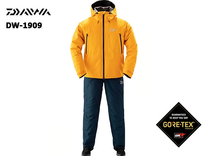 DAIWA DW-1909 Gore-Tex Product Winter Suit MUSTARD-Mimage