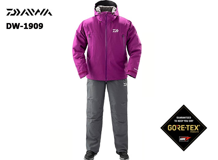 DAIWA DW-1909 Gore-Tex Product Winter Suit PURPLE-2XL(October Debut)image