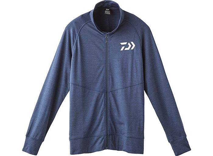 DAIWA DE-92009 Full Zip Type Stretch Parka Navy XLimage