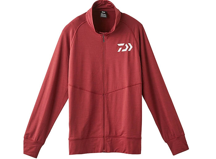 DAIWA DE-92009 Full Zip Type Stretch Parka Red XLimage