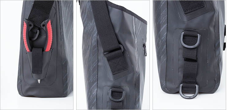 DAIWA 2019 TP SHOULDER BAG Black Camouflage_Image1