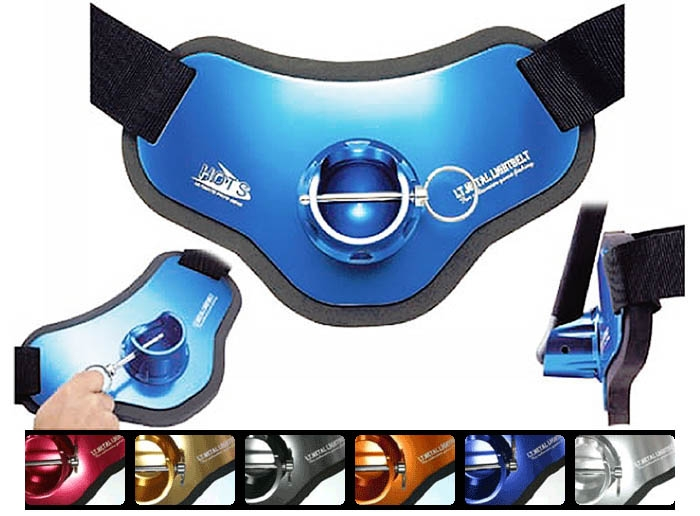 HOTS PROS GEAR Lt.Metal Lightbelt Type-2 with waist support belt / Blue_Image6