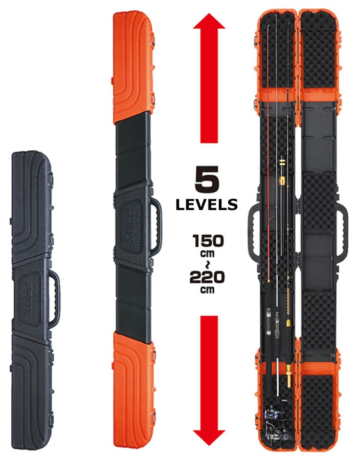 CONTAINER GEAR-5 HARD ROD CASE PX933O(ORANGE)_Image1