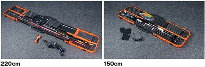 CONTAINER GEAR-5 HARD ROD CASE PX933O(ORANGE)_Image3