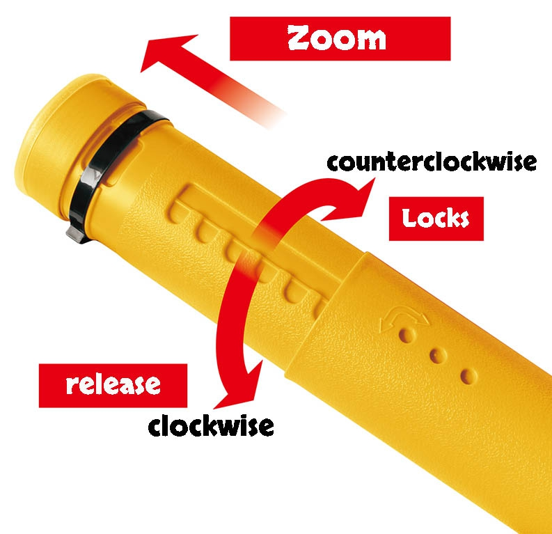 ROUND AIR ROD CASE DIA-9 / YELLOW_Image3