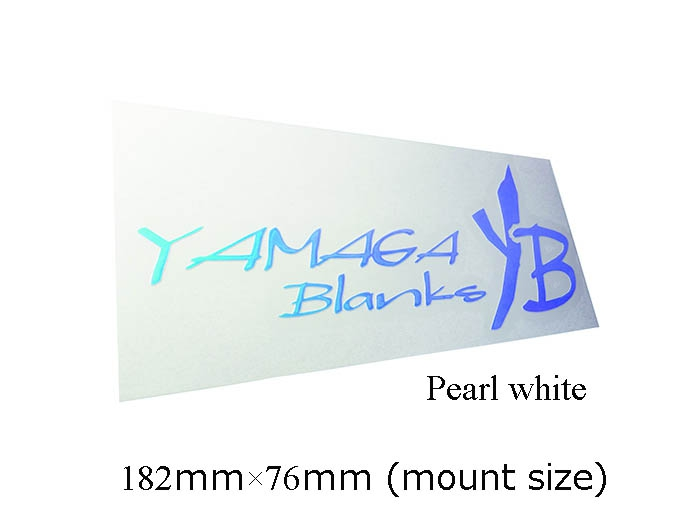 19 YAMAGA BLANKS CUTTING STICKER Pearl white_Image2