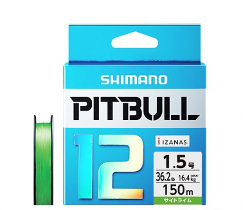 SHIMANO PITBULL 12 PL-M52R #0.8(18.3lb)-200m Sight Lime_Image2