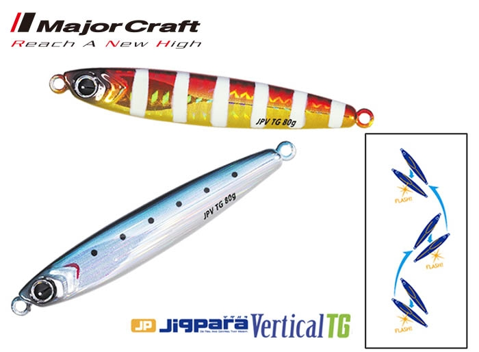 MAJOR CRAFT Jigpara Vertical Tungsten 60g #3_Image1