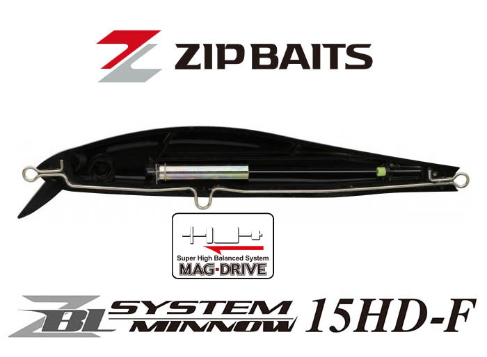 ZIP BAITS ZBL SYSTEM MINNOW 15HD-F #597_Image1