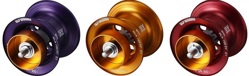DAIWA SLP WORKS RCSB CT SV700 SPOOL ORANGE_Image1