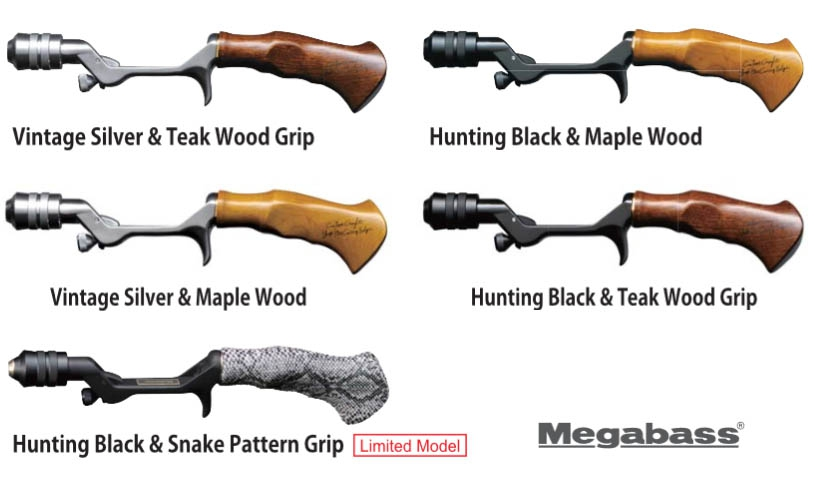 Pagani TRAD Hunting Black & Teak Wood Grip (ONLY GRIP)_Image3