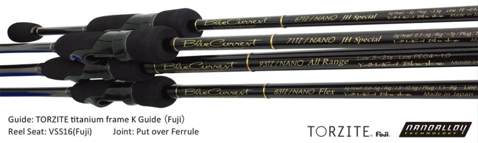 YAMAGA BLANKS BLUE CURRENT 83 TZ/NANO FLEX(Free Shipping) (In stock)_Image1